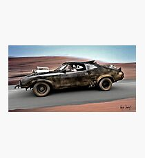 MAD MAX THE ROAD WARRIOR Photographic Print