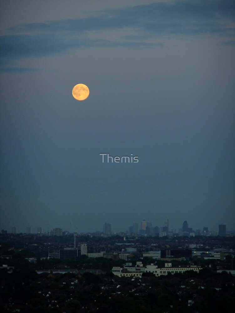 Moon over the City by Themis