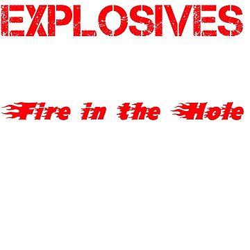Crowder Explosives Justified Funny Humor Hoodie / T-Shirt by maikel38