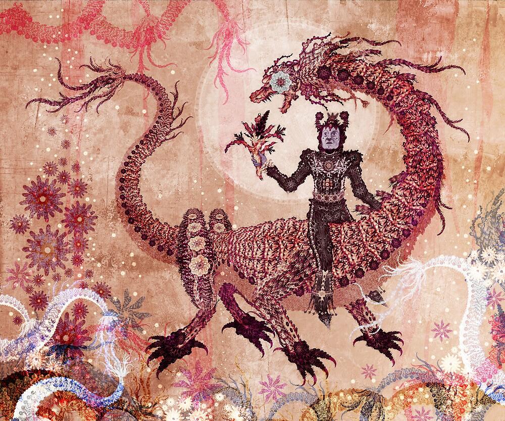 Feeding the Dragon of All Worlds by Kristian Olson