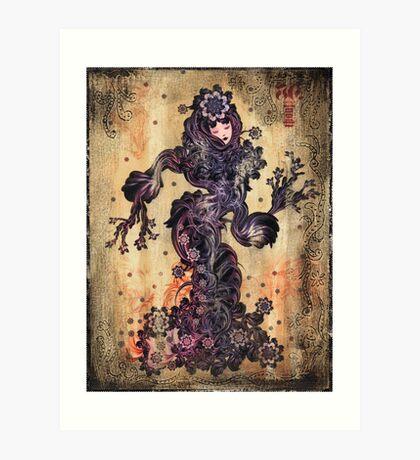 Luscious in the Dance Art Print