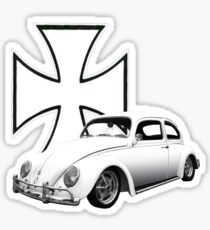 Iron Cross VW Bug Sticker