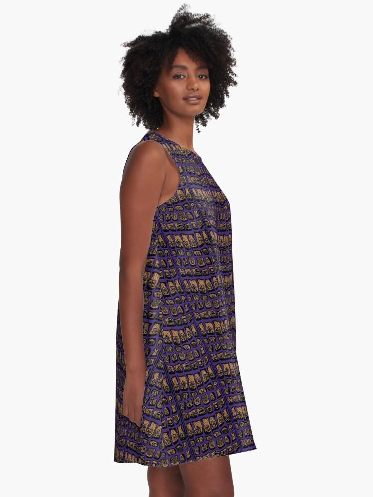 Alternate view of Venajo- COTY  A-Line Dress