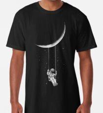 Camiseta larga Oscilación de la luna