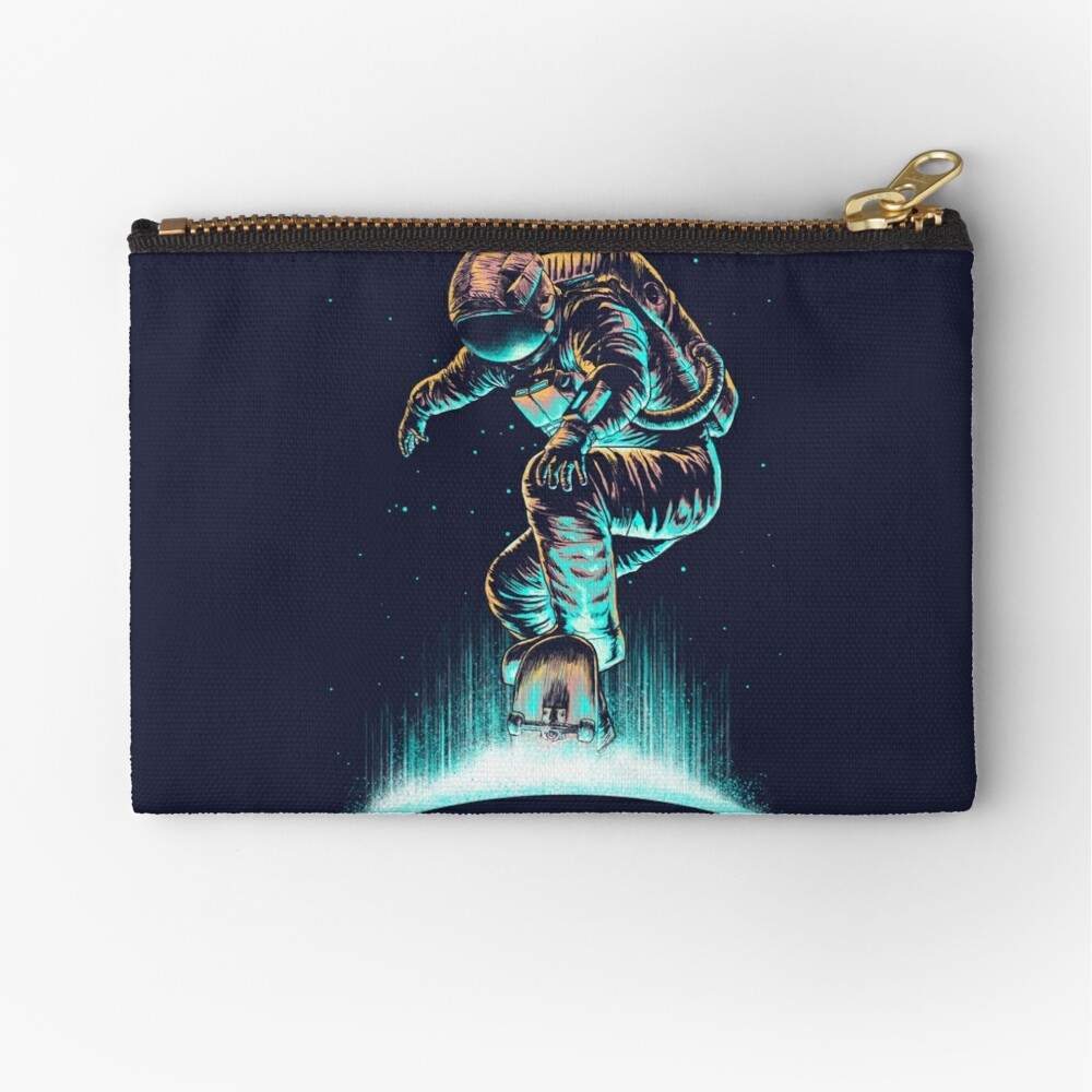 Space Grind Zipper Pouch