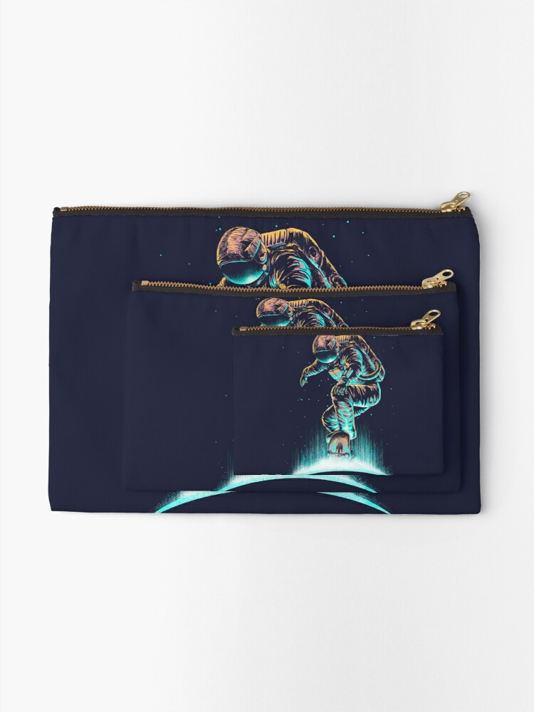 Alternate view of Space Grind Zipper Pouch