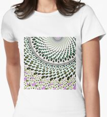 Olives and Wine mandala Fitted T-Shirt