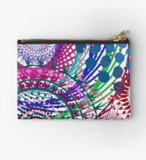 Northern Lights Fireworks mandala Zipper Pouch