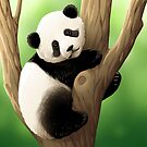 Giant Panda by Tami Wicinas