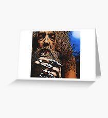 Alan Moore Greeting Card