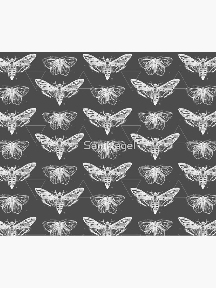 Geometric Moths - inverted by SamNagel