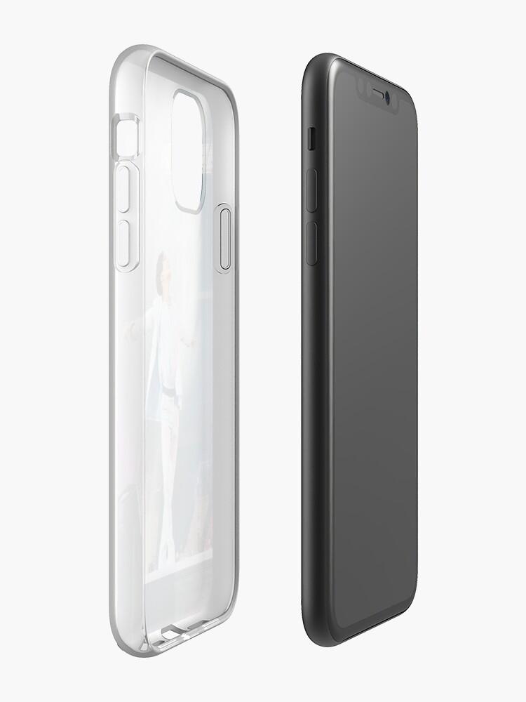 verre trempé iphone 7 integrale - Coque iPhone «BTS - Parlez-vous JHOPE», par okMafia