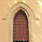 Ein gewölbtes römisches Fenster von Fara
