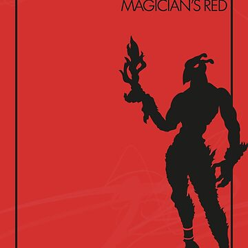 Magician's Red by the-minimalist