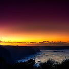 Dawn at Bushrangers Bay by Jason Green