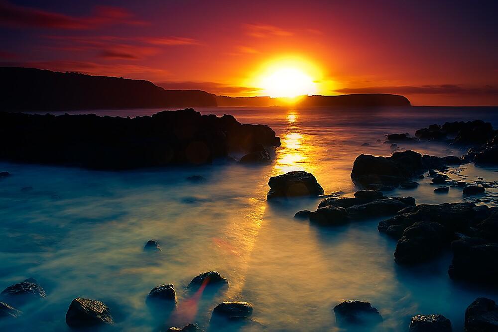 Sunrise at Bushrangers Bay by Jason Green