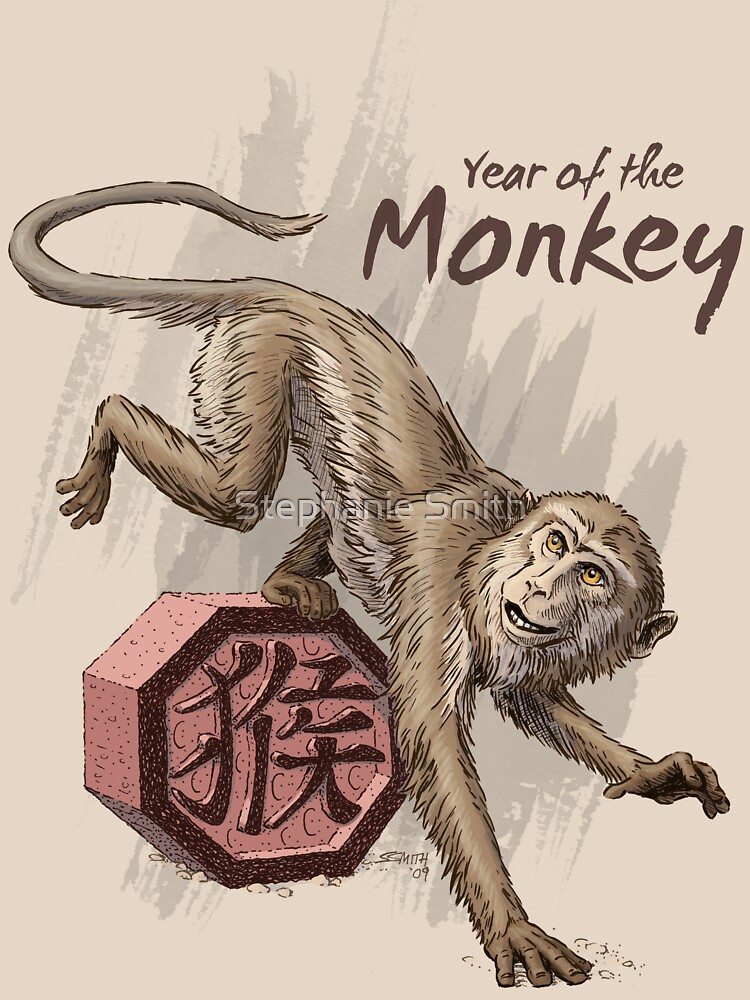 Year of the Monkey by stephsmith