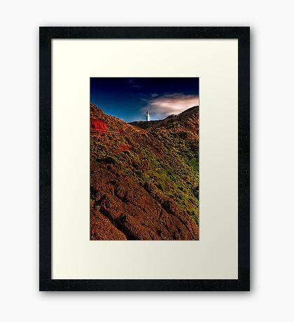 Cape Schanck Lighthouse by Day Framed Print