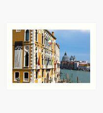 Venice View Art Print