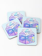 Milky Way Milk Carton Coasters