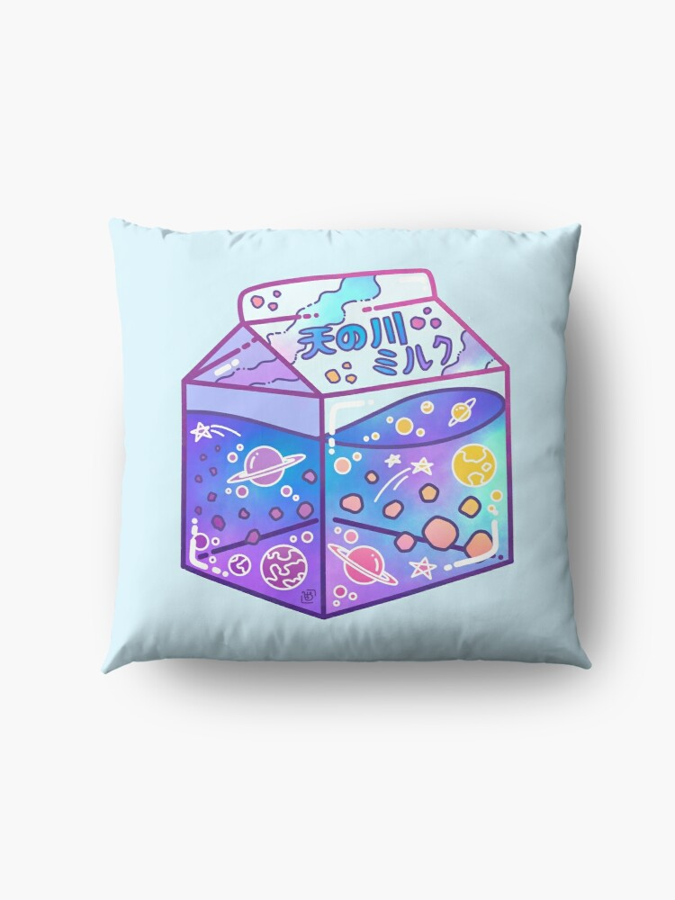 Alternate view of Milky Way Milk Carton Floor Pillow