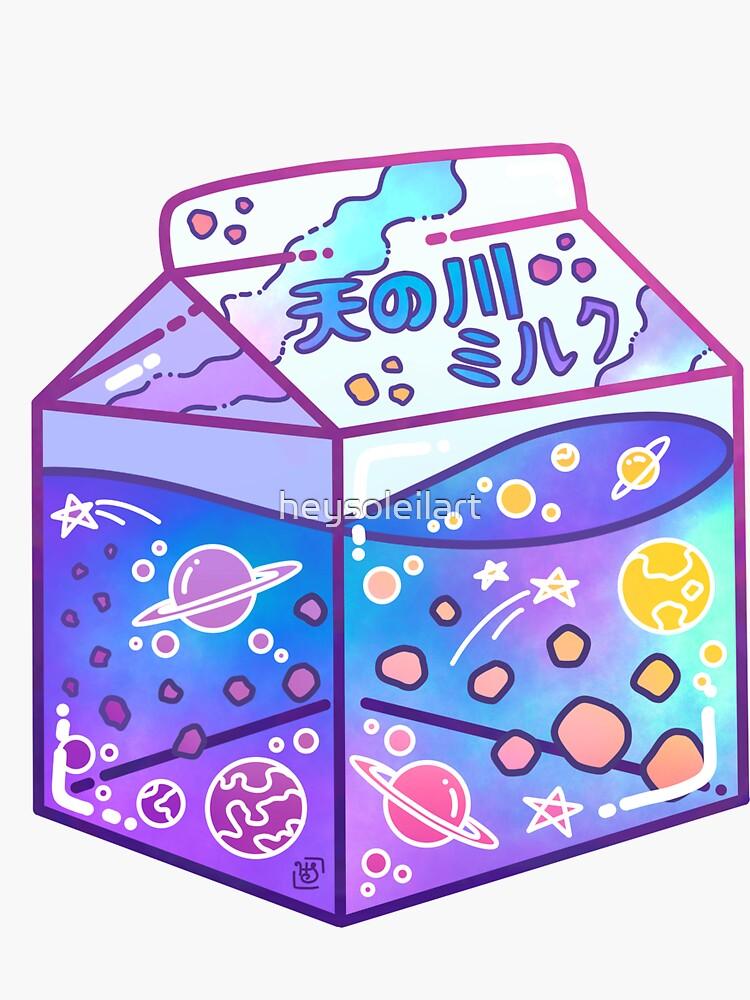 Milky Way Milk Carton by heysoleilart