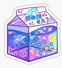 Milky Way Milk Carton Sticker