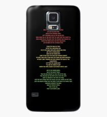 Lift Every Voice Case/Skin for Samsung Galaxy