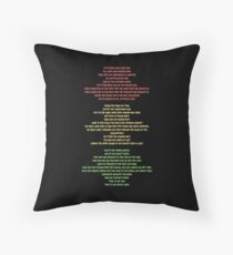 Lift Every Voice Throw Pillow