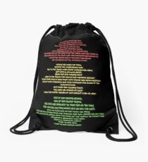 Lift Every Voice Drawstring Bag