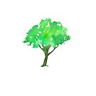 Watercolour Tree by ArtByMichelleT