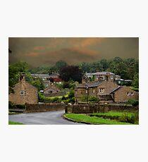 Downham Village, Lancashire Photographic Print