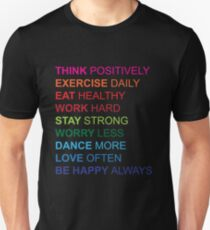 Positive Phrases Unisex T-Shirt