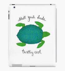 Turtle Pun iPad Case/Skin