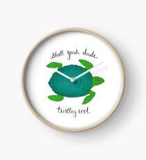 Turtle Pun Clock