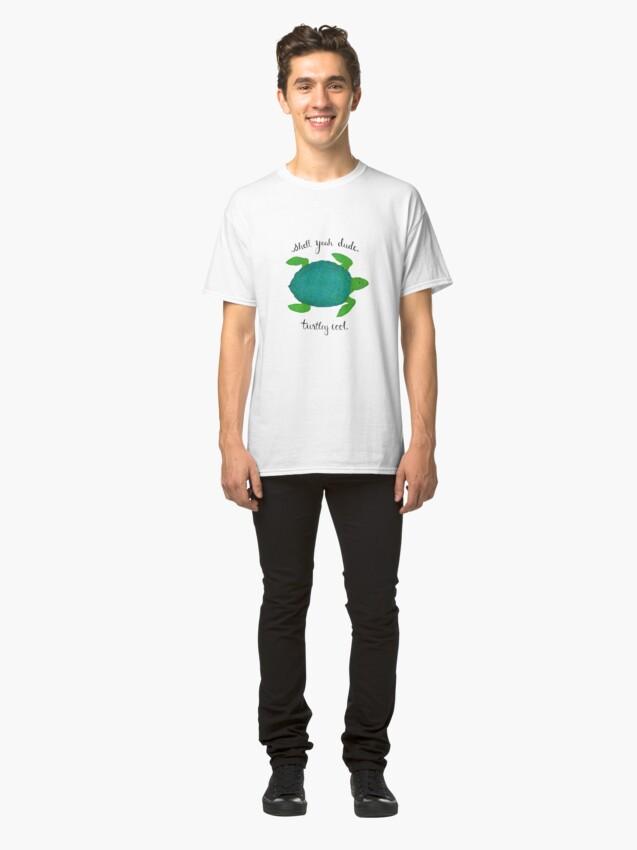 Alternate view of Turtle Pun Classic T-Shirt