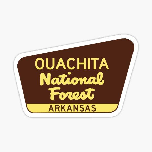 Lake Ouachita State Park Decal Sticker Explore Wanderlust Camping Arkansas