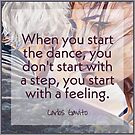 In the Dance - Start With a Feeling by infinitetango
