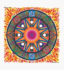 Dharma wheel 2 Photographic Print