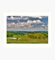 Wisconsin Landscape Art Print