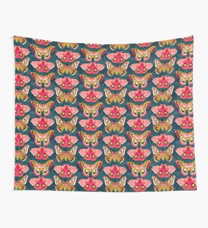 Lepidoptery No. 4 by Andrea Lauren Wall Tapestry
