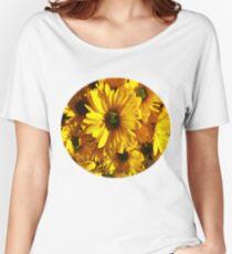 Yellow Gerber Daisy Women's Relaxed Fit T-Shirt