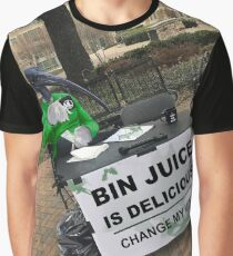 Bin Chicken Meme Graphic T-Shirt