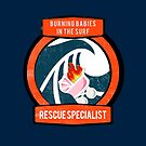 Burning Babies in the Surf Rescue Specialist by AlwaysReadyCltv