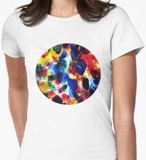 Glass Umbrellas Womens Fitted T-Shirt