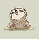 Happy Sloth by Toru Sanogawa