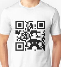 Mario QR Code 8-Bit T-Shirt