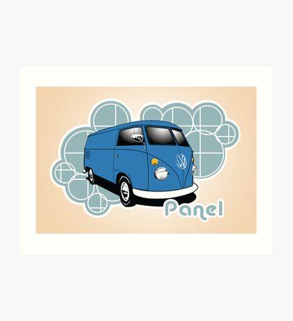 Volkswagen Print- Split Panel  Art Print