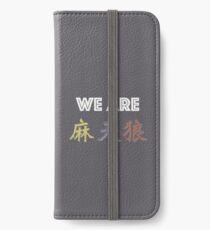 Wir sind Matenrou iPhone Flip-Case/Hülle/Klebefolie
