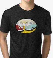 Volkswagen Tee Shirt - Split Decision Tri-blend T-Shirt